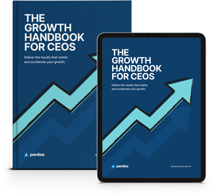 The Growth Handbook For Ceos Banner Png